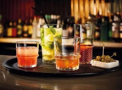 szkło stołowe - szklanki